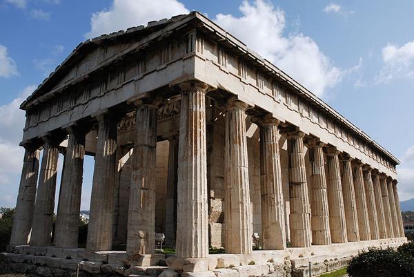 Det gamle tempelet Parthenon