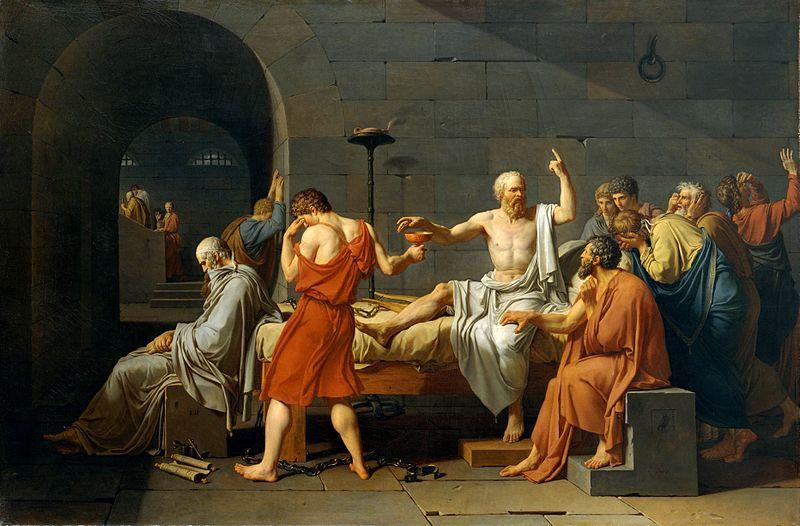 Sokrates får giftbegeret